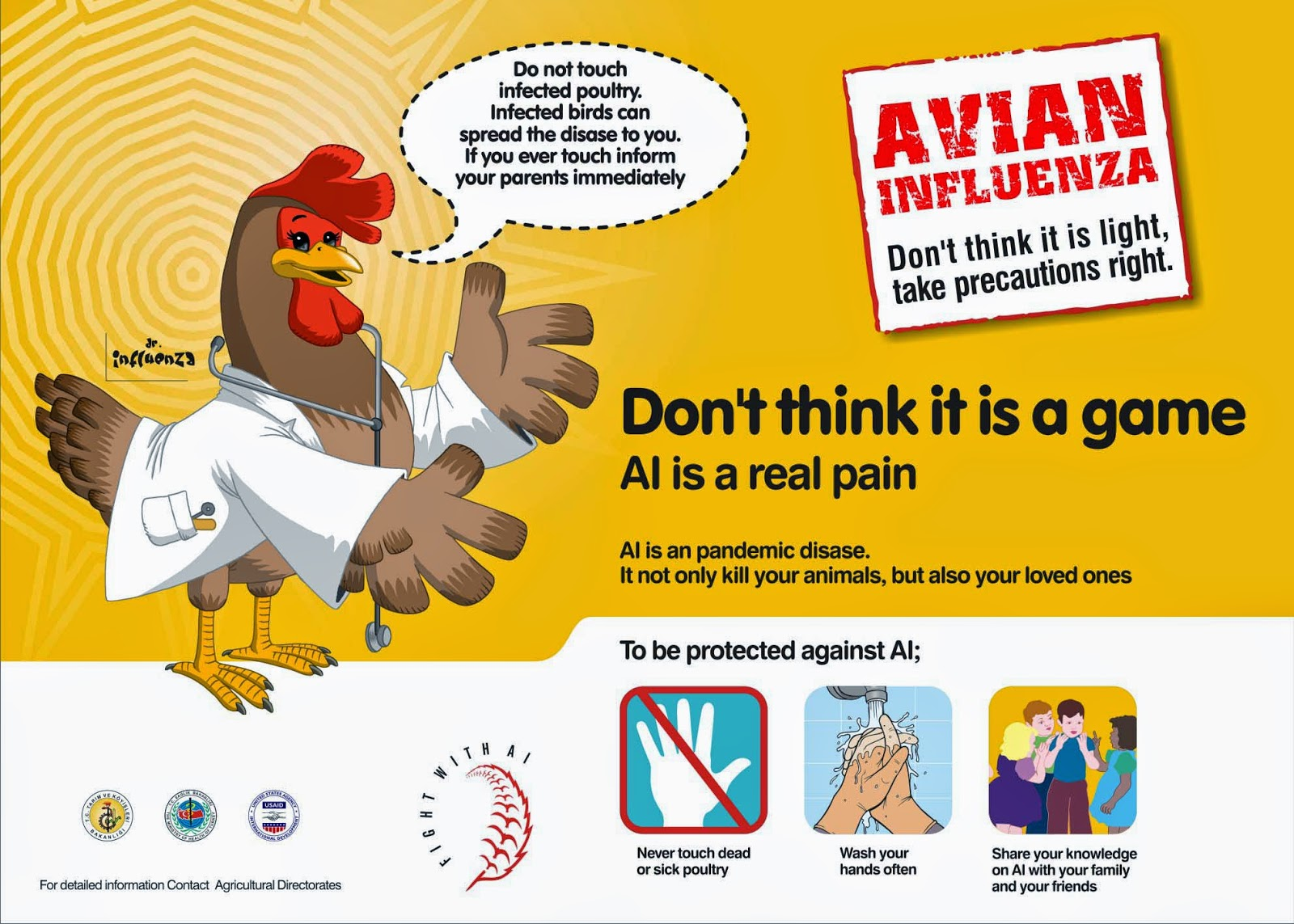 What is avian flu and how do you catch it images